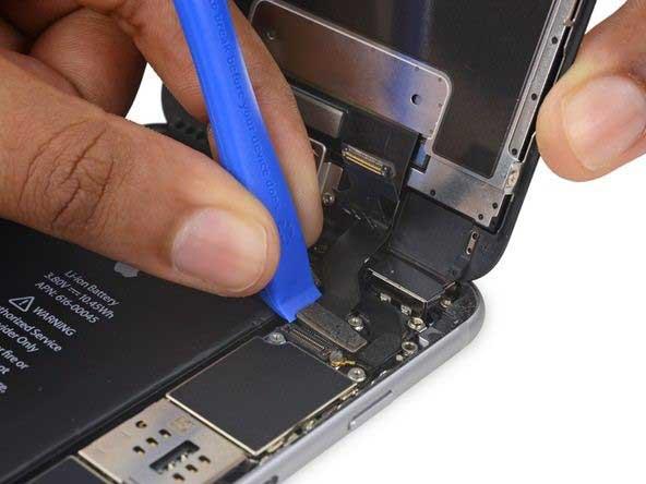 جداسازی کانکتور کابل دیجیتایزر iphone 6s plus