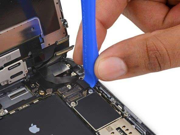 جداسازی کانکتور صفحه نمایش iphone 6s plus