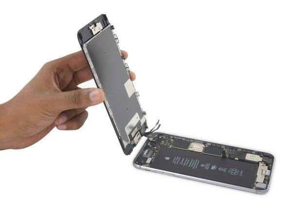 جداسازی کامل پنل پشت و جلوی آیفون iphone 6s plus