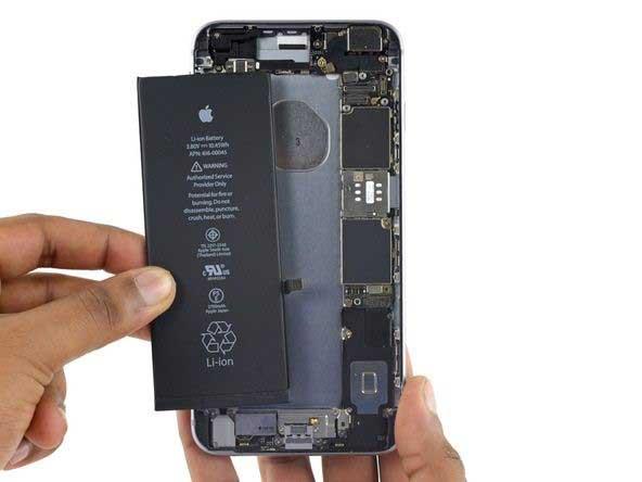 تعویض باتری آیفون 6 اس پلاس (iPhone 6S Plus)