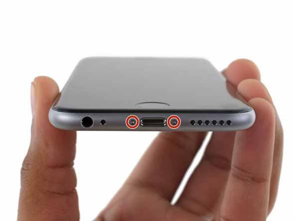 تعویض باتری ایفون 6 اس پلاس