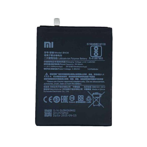 باتری شیائومی Xiaomi Mi A2 -BN36